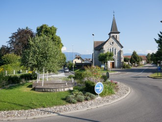 Rond point de l'église