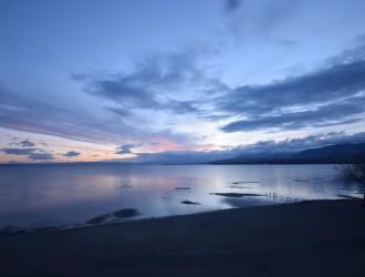 Excenevex-plage_2019-03-05 lever de soleil © mairie d'Excenevex